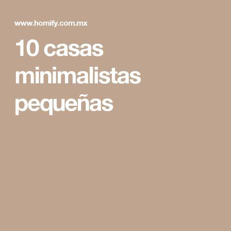10 casas minimalistas pequeñas   Baño minimalista, Casas ...