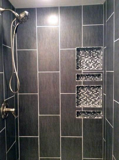 Nice Tile Shower Ideas With Bench To Refresh Your Home In 2020 Bathroom Remodel Shower Bathroom Shower Tile Diy Bathroom Remodel
