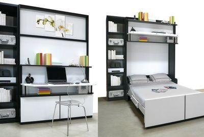Lit Bureau Sudio Environ 6000 Euros Prix Variable Selon Options Lit Gain De Place Lit Relevable Lit Mezzanine 2 Places