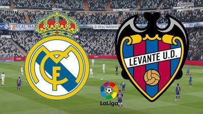 مشاهدة مباراة ريال مدريد وليفانتي بث مباشر اليوم 4 10 2020 في الدوري الاسباني Real Madrid Madrid Real Madrid Vs Levante