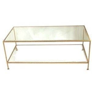 taylor coffee table gold - coffee tables - tables   james said