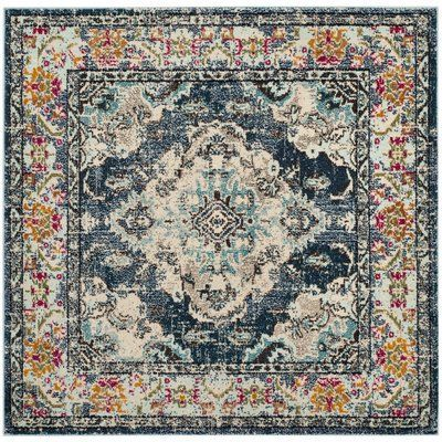 Square Oriental Rugs In 2020 Square Area Rugs Light Blue Rug Light Blue Area Rug