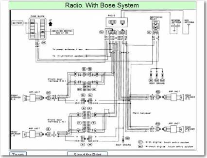 16 Nissan Stereo Wiring Diagram Nissan Electrical System Nissan Elgrand
