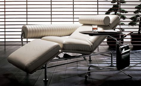 Chaise Longue Design Moderno.Up Down Powered Sofa Chaise Longue Leather Covered Italy