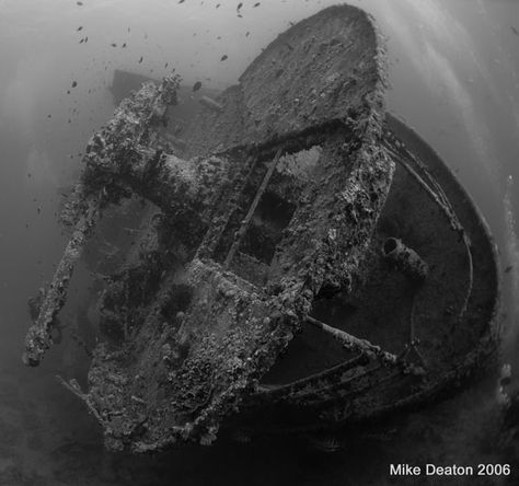 Thistlegorm, Red Sea.  Awesome :)