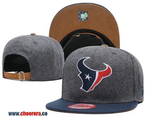 the best attitude 9eb5e 239b0 2018 New NFL Houston Texans Adjustable SnapBack Hat in Gary