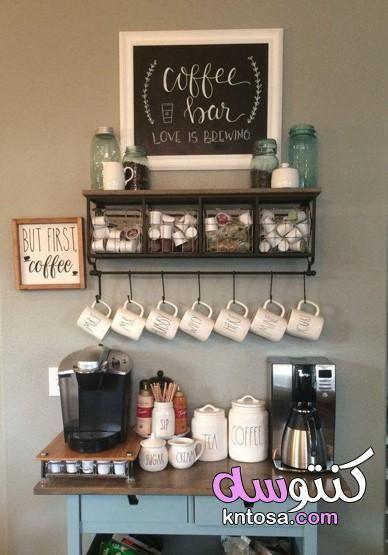 ركن القهوة في الصالة انستقرام تصميم ركن القهوة في المنزل ركن القهوه الي بغرفتي وبعض افكاري للتصميم Coffee Bar Home Coffee Bars In Kitchen Farmhouse Coffee Bar