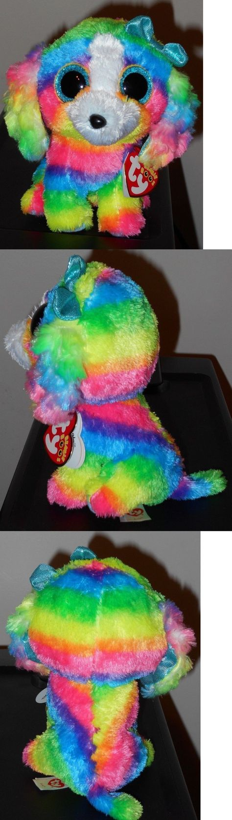 27dee8db72e Current 438  Ty Beanie Boos ~ Lola The Rainbow Dog 6 (Claire S Exclusive)  New Mwmt -  BUY IT NOW ONLY   13.9 on  eBay  current  beanie  rainbow