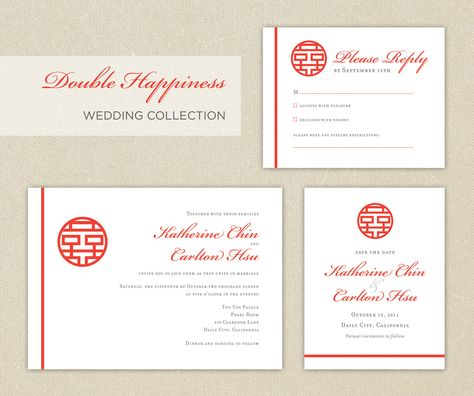 Wedding Invitation and RSVP Card Suite by VintageBellsAndCo, $200 - ceremony invitation template