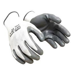 Size Small EN388 Certified White 1 Pair Tough and Durable Stainless Steel Material NoCry Cut Resistant Protective Work Gloves with Rubber Grip Dots