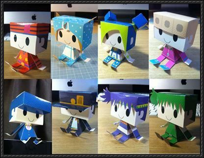 New Paper Craft Jojo S Bizarre Adventure Joestar Family Graphig Paper Toys Free Download On Papercraftsquare Paper Toys Paper Crafts Papercraft Download
