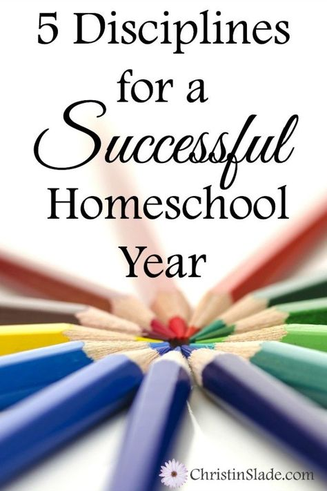 Its important for homeschool moms to be disciplined so they get the most from their time and offer the most to their children.
