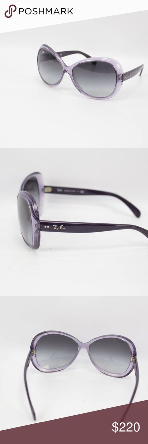 6d0de7ca710 RAY-BAN Purple Sunglasses  6770  Gently used condition. With case. Handbags