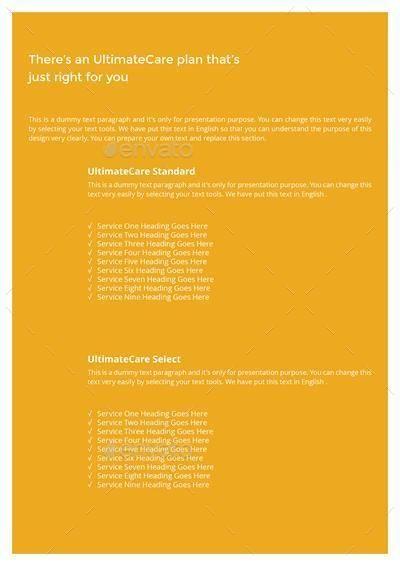 Insurance Companies Multipurpose Brochure Template Affiliate