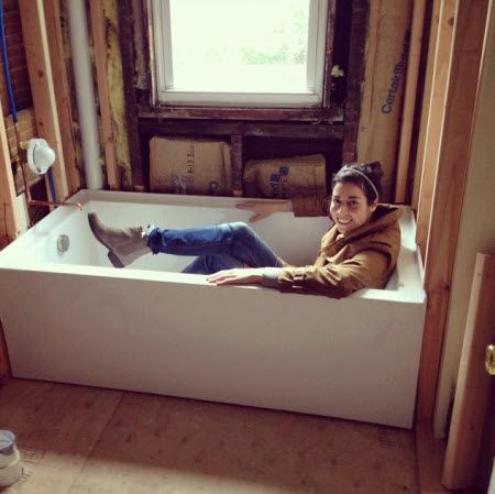 Design Manifest: On The Jobsite Love The Clean Lines On This Tub | Dream  Baths | Pinterest | Tubs And Bath