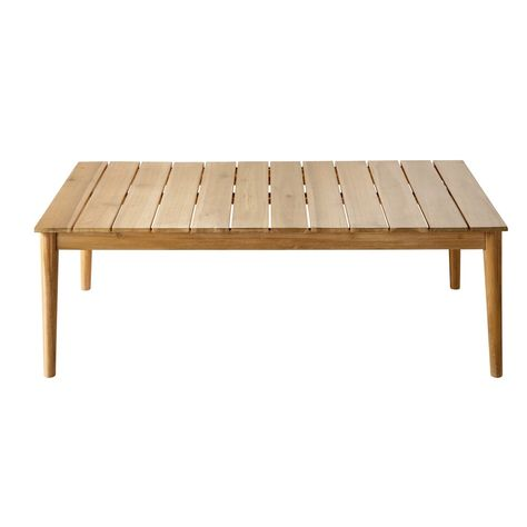 Table basse de jardin en acacia massif | Products | Table basse ...