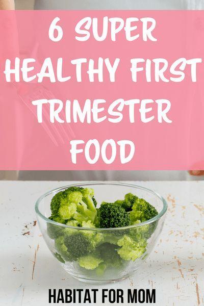 Gesunde Ernährung Schwangerschaft im ersten Trimester
