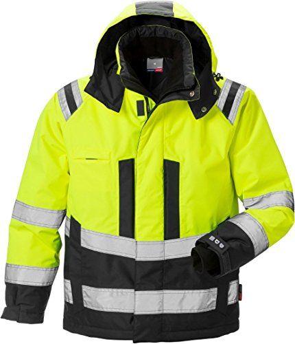 Check This Fristads Kansas 119626 High Viz Airtech Winter Jacket Hi V Jacket Coat Airtech Br Winter Outfits Men Winter Jackets Online Mens Clothing Styles