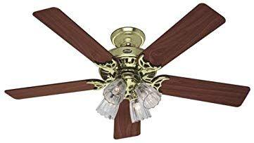 Ceiling Fan With Light Review Brass Ceiling Fan Ceiling Fan