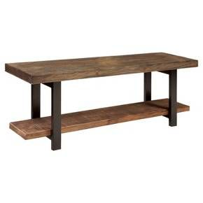 Stupendous Hernwood 55 Dining Bench Brown Threshold Andrewgaddart Wooden Chair Designs For Living Room Andrewgaddartcom