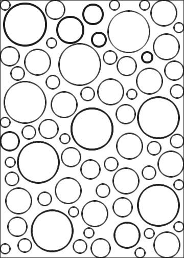Bubble Coloring Page Shapes Worksheets Worksheets And Bubbles Circle Coloring Pages
