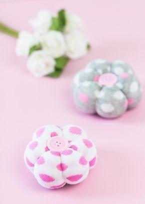 Diy Deko Blumen Aus Socken Basteln Tolle Upcycling Idee