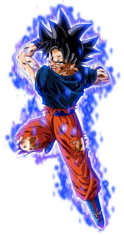 c60b85d90 Son Goku Ultra Instinto herido KII by jaredsongohan