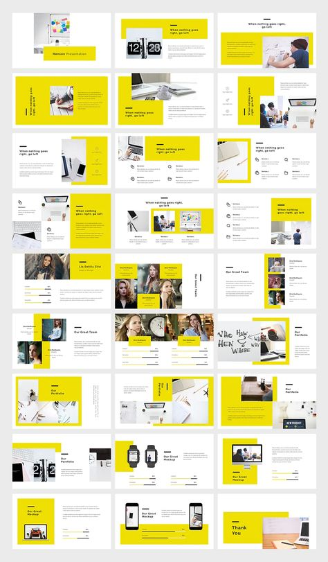 Creative PowerPoint Template. 30 Slides.