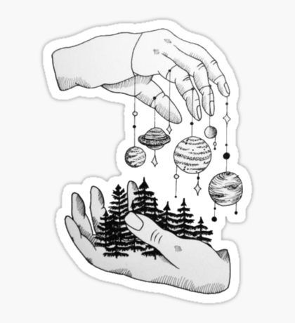 Stickers Nature Stickers Black And White Stickers Aesthetic Stickers
