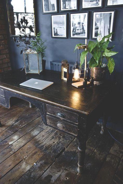 Edwardian Desk Antique Desk Vintage Desk Wooden Desk Large Desk Country Ho Hangiulkeninmali Com Home Edwardia In 2020 Home Office Design Home Decor Decor