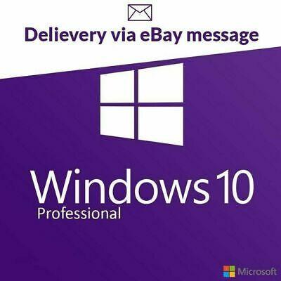 Ebay Link Ad Windows 10 Pro Key 32 64 Genuine Key Licences Activation Code Fast Delivery In 2020 Windows 10 Microsoft Windows Microsoft