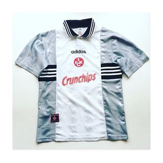 Kaiserslautern Away '9798 Link in bio to shop bundesliga