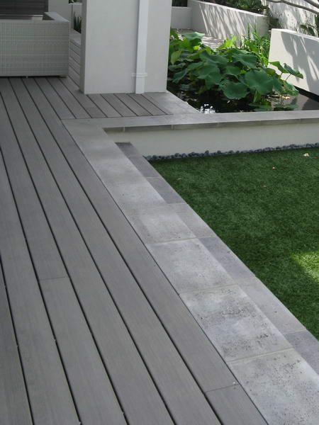 Terrasse bois composite Terranova Xtrem Gris minéral Terrasse - terrasse bois sur plots reglables