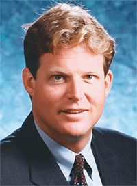 Ted Kennedy Jr. - healthcare attorney, amputee, osteosarcoma survivor. Please help the Sarcoma Foundation of America fight this terrible disease www.curesarcoma.org