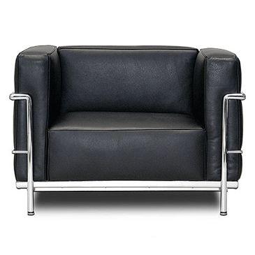 Le Corbusier Fauteuil Grand Confort Grand Modele Lc3 Lounge Chair 1928 Mobilier De Salon Design Bauhaus Mobilier