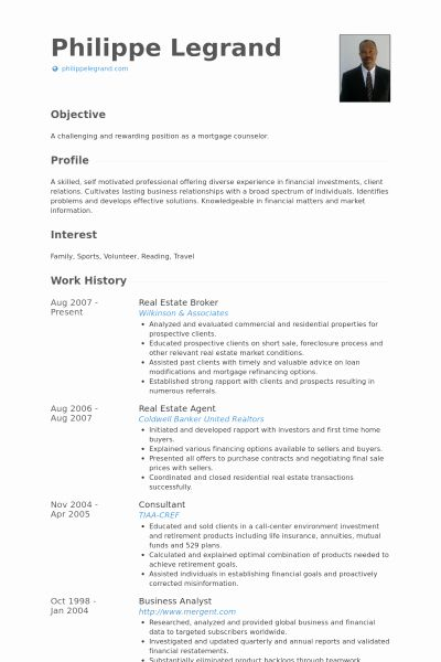 Real Estate Agent Resume Example Lovely Real Estate Broker Resume Resume Examples Job Resume Examples Resume Template Examples