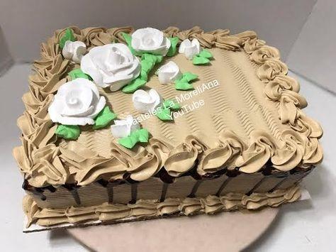 Facil Decoracion De Pasteles Sencillos