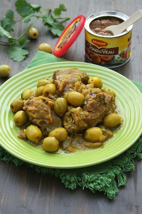 Tajine de veau aux olives et citron confit - Maggi - Cookeo - Minouchka