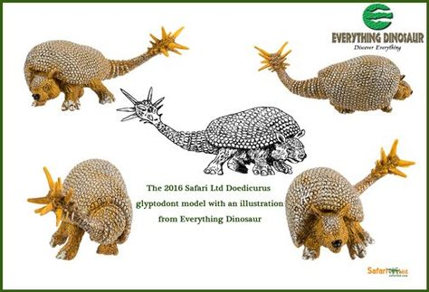 Wild Safari Prehistoric World Doedicurus Safari Ltd New Educational Toy Figure