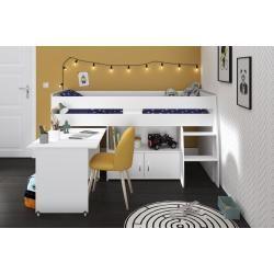 Hochbett Reverse 1 Weiss 90x200 Cm Roller In 2020 Hochbett Schlafzimmer Deko Und Kleine Kommode