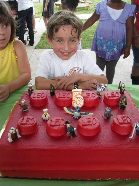 LEGO birthday cake custom made by my Publix bakery | Leo | Lego ...
