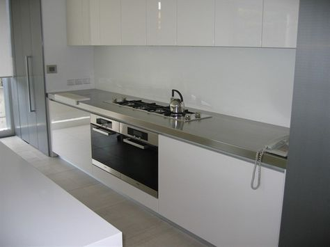 Stainless Steel Bench tops Creates Massive Impact Steel Bench