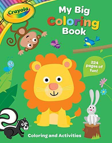 Crayola My Big Coloring Book 1 Crayola Buzzpop In 2021 Toddler Coloring Book Coloring Books Coloring Books Gifts