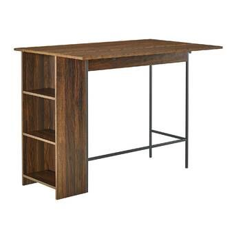 Ashton Dining Table In 2020 Drop Leaf Dining Table Counter Height Dining Table Leaf Storage