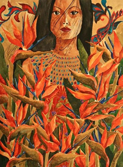 Katrina Pallon「Her Fire Garden」