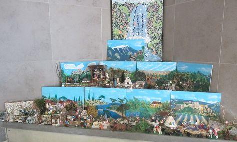 La crèche provençale   Decoration noel, Creche provencale et
