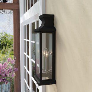 Charlton Home Cajigas Oil Burnished Bronze 1 Bulb Outdoor Wall Lantern Wayfair Wall Lantern Outdoor Wall Lantern Outdoor Lighting
