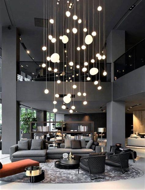 White-globe-multi-pendant-lighting VOYAGE   Etsy