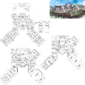 Balmoral Castle Plans Luxury Home Plans Castle Plans Mansion Floor Plan Luxury House Plans
