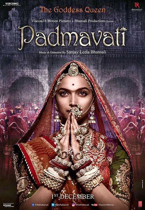 Directed By Sanjay Leela Bhansali With Deepika Padukone Ranveer Singh Shahid Kapoor Anupriya G Padmavati Full Movie Full Movies Download Hd Movies Download